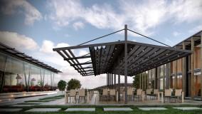 حقانی 09380039391-زیباترین سقف برقی رستوران-فروش سقف اتوماتیک کافه رستوران عربی