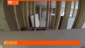 کناف سقف - نصب کناف در حمام