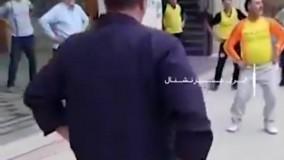 ورزش صبحگاهی با موسیقی شاد در مسجد خمینی شهر جنجال شد