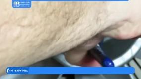 آموزش تعمیر پنکه رومیزی - بازکردن تیغه های پنکه - محمودی
