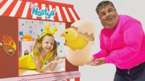 برنامه کودک ناستیا - رنگ کردن تخم مرغ
