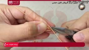 آموزش زیورآلات با سیم مسی - ساخت انگشتر با سیم مسی
