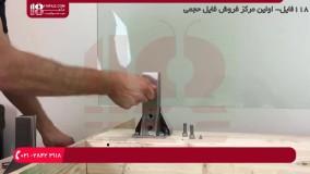 آموزش نصب نرده استیل | مراحل نصب