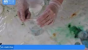 آموزش زیورآلات رزینی - دستبند رزینی شفاف