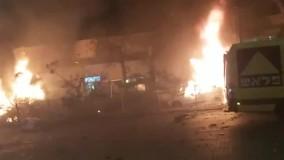 شب ملتهب و متشنج میان اسرائیل و فلسطین