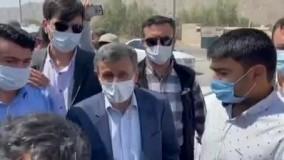 احمدی نژاد ضامن گوسفند شد !