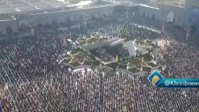 اقامه نماز عید سعید فطر در حرم رضوی