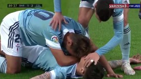 خلاصه بازی بارسلونا 1 - سلتاویگو 2
