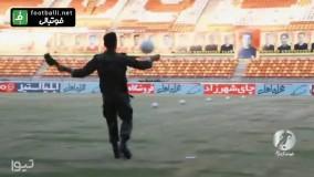 روپایی زدن عالی سرباز یگان ویژه نیروی انتظامی