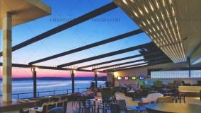 حقانی 09380039391-زیباترین سایبان برقی رستوران-فروش سقف متحرک تالار-جدیدترین سقف اتوماتیک کافی شاپ