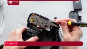 آموزش تعمیر دوربین عکاسی | تعمیر  شاتر D Series