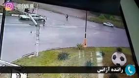 ویدیو جالب از ترفند پلیس برای کمک به یک شهروند