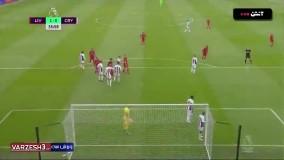 خلاصه بازی لیورپول 2 - کریستال پالاس 0