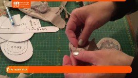 آموزش دوخت عروسک تیلدا - آموزش دوخت عروسک موش تیلدا