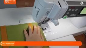 آموزش 5مدل دوخت کیف لپ تاپ