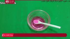 آموزش اسلایم - آموزش ساخت اسلایم با شکر و چسب