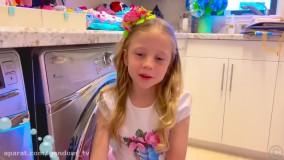 ناستیا جدید : ناستیا دختر خوبی برای پدر میشود