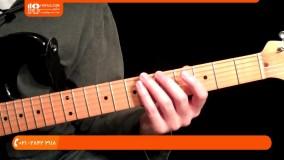 آموزش گیتار الکتریک - نام گذاری نت ها در فرت بورد