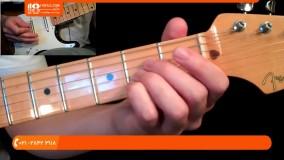 آموزش گیتار الکتریک - آکوردهای  باز پایه ای