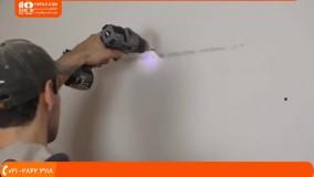 آموزش کناف سقف - نصب دیوارهای پوششی کناف