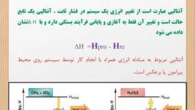 آنتالپی واکنش ( شیمی یازدهم ) کنکور سراسری 1400