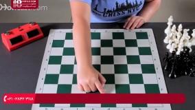 آموزش شطرنج - طریقه چینش صفحه شطرنج
