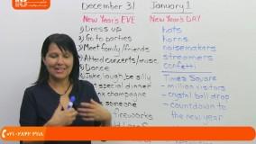آموزش زبان انگلیسی در منزل - تبریک سال نو
