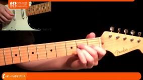 آموزش گیتار الکتریک - آموزش پایه ی آکوردهای هفتم