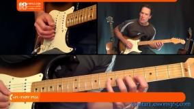 آموزش گیتار الکتریک - تمرین تکنیک هفتگی گیتار