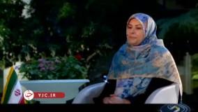 همسر عبدالنصار همتی در صدا و سیما