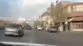تعقیب و گریز پلیس فاتب در تهران با مجرم