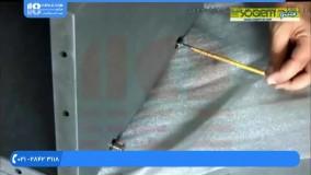 آموزش نصب نرده استیل - نصب راه پله و حفاظ