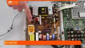آموزش تعمیر یخچال فریزر - تعمیر ال سی دی و بدون تصویر و تست نور فلش