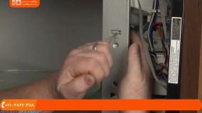 آموزش تعمیر مایکروویو - تعویض سوئیچ درب برند Whirlpool