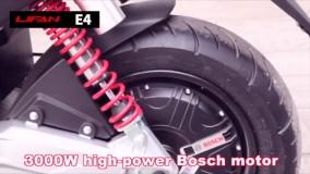 موتورسیکلت برقی E4 لیفان معرفی شد