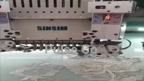 دستگاه گلدوزی 28 کله سین سیم