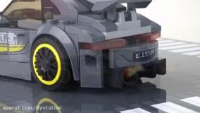 لگو ماشین مسابقه Wange Super Car/ایستگاه پرواز