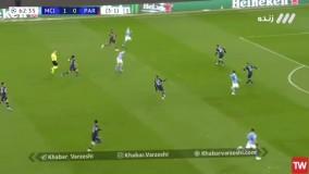 گل دوم منچسترسیتی به پاریسن ژرمن توسط ریاض محرز در دقیقه 63