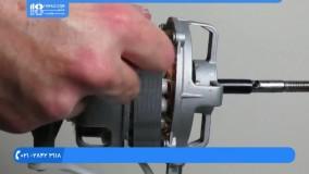 آموزش تعمیر پنکه رومیزی | باز و بست کردن کامل موتور پنکه