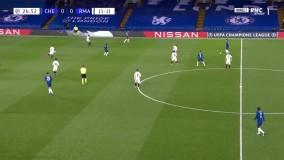 گل اول چلسی به رئال مادرید توسط تیمو ورنر در دقیقه 27