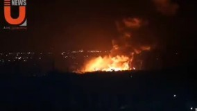 حمله موشکی اسرائیل به خاک سوریه