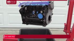 آموزش نقاشی خودرو   رنگ آمیزی موتور خودرو