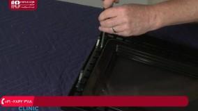 آموزش تعمیر ماکروویو - تعویض ضامن قفل درب مایکروویو برند