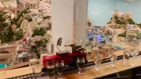 طولانی ترین ملودی نواخته شده با قطار مدل در شهر مینیاتوری