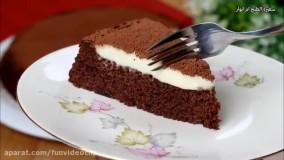 طرز تهیه ترامیسو با کیک شکلاتی