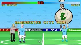 کارتون طنز له شدن مسی زیر پول های نفتی در جدال با منچسترسیتی ! (زیرنویس)