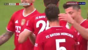 خلاصه بازی بایرن مونیخ 6 - مونشن گلادباخ 0