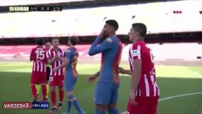 خلاصه بازی بارسلونا ۰ - اتلتیکومادرید ۰