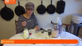 آموزش درست کردن ترشی -  ترشی تخم مرغ با فلفل و سیر