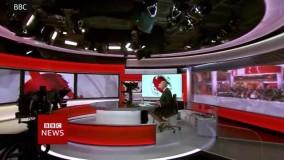 دوربین «شلوارک» مجری بی بی سی را فاش کرد !